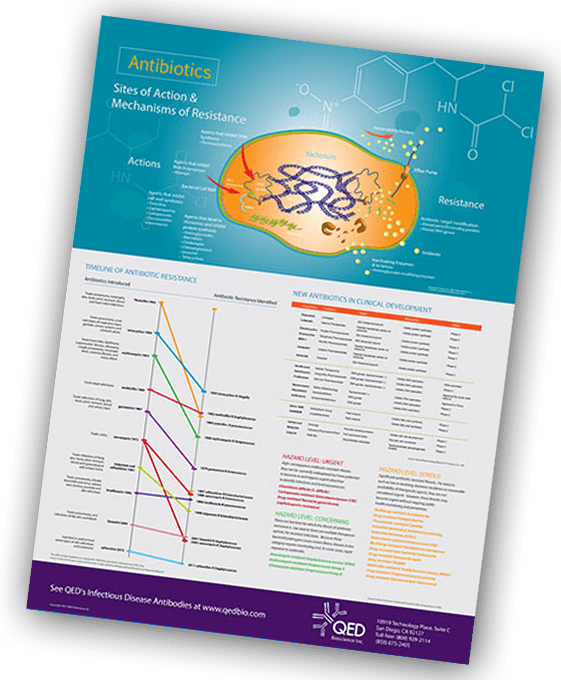 Get A Free Infectious Disease Antibody Research Poster - QED Bioscience, Inc
